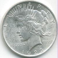 USA,1 silver dollar