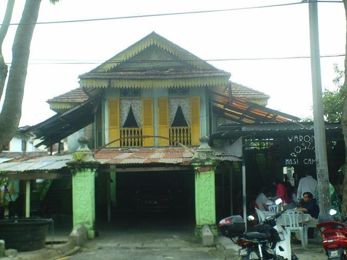 Seni Lama Melayu Malay Olden Art Rumah Melayu Lama Di Kampung Baru An Old Malay House In Kampung Baru
