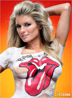 Are not marisa miller body paint swimsuit think