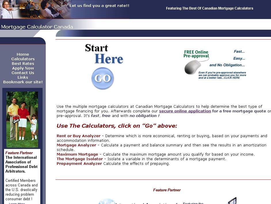 term loan calculator canada
