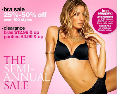 Victoria secret sale dates