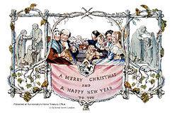 Ensimmäinen joulukortti