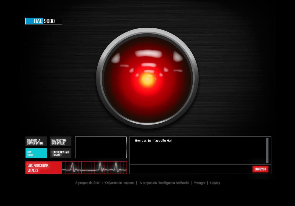 artificial creature com hal 9000 is online