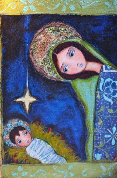 Artist Window Nativity Alberti