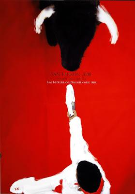 Cartel oficial de los Sanfermines '2008