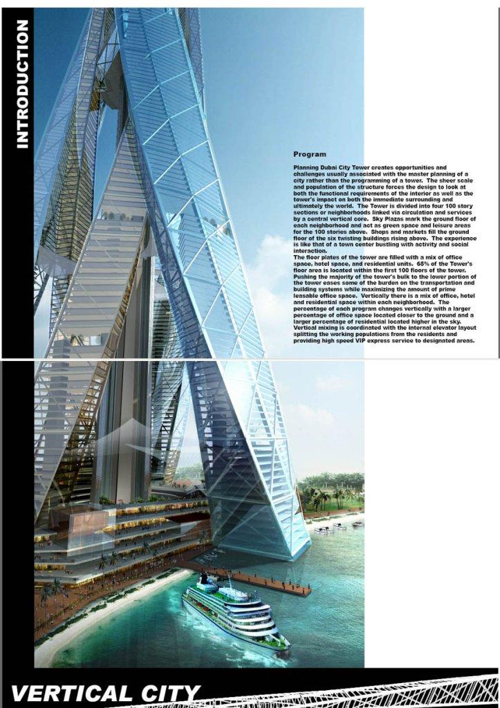 Construere Somnus: Dubai City Tower (El Edificio más alto ...