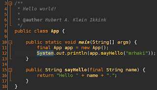 Dark Color Schemes In Netbeans Messages From Mrhaki