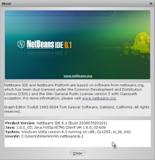 Which Java Version Is Used To Run Our NetBeans Installation