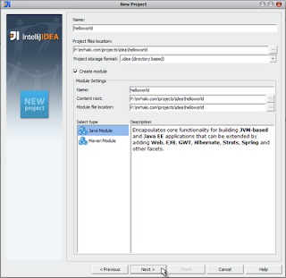 Simple Groovy Project in IntelliJ IDEA Community Edition