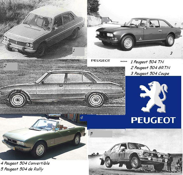 Fanaticospeugeot La Historia Del Peugeot 504