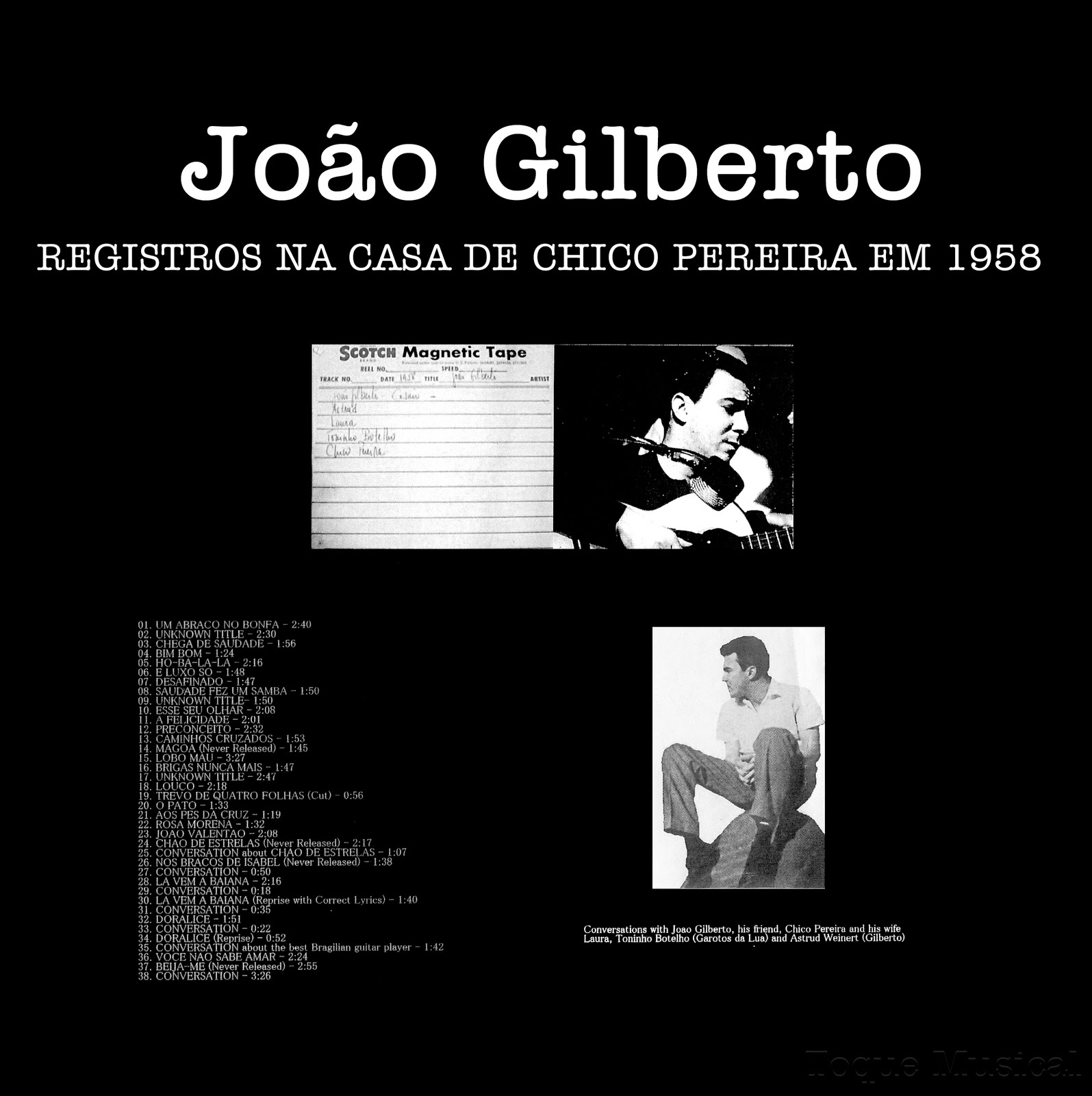 Música Para Gatos Las Grabaciones Inéditas De Joao Gilberto