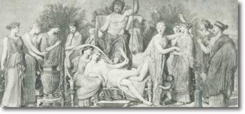 η γέννηση των μουσών_1856_συλλογή Ερρίκου Λα Πωρ
