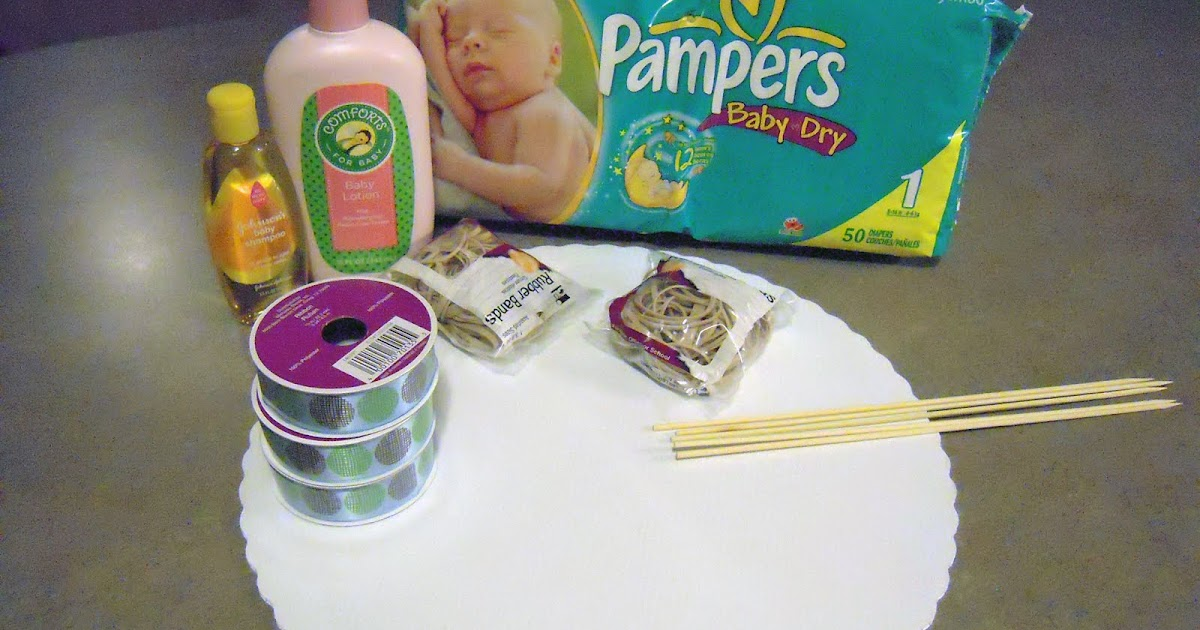What Supplies Do I Need To Make A Diaper Cake