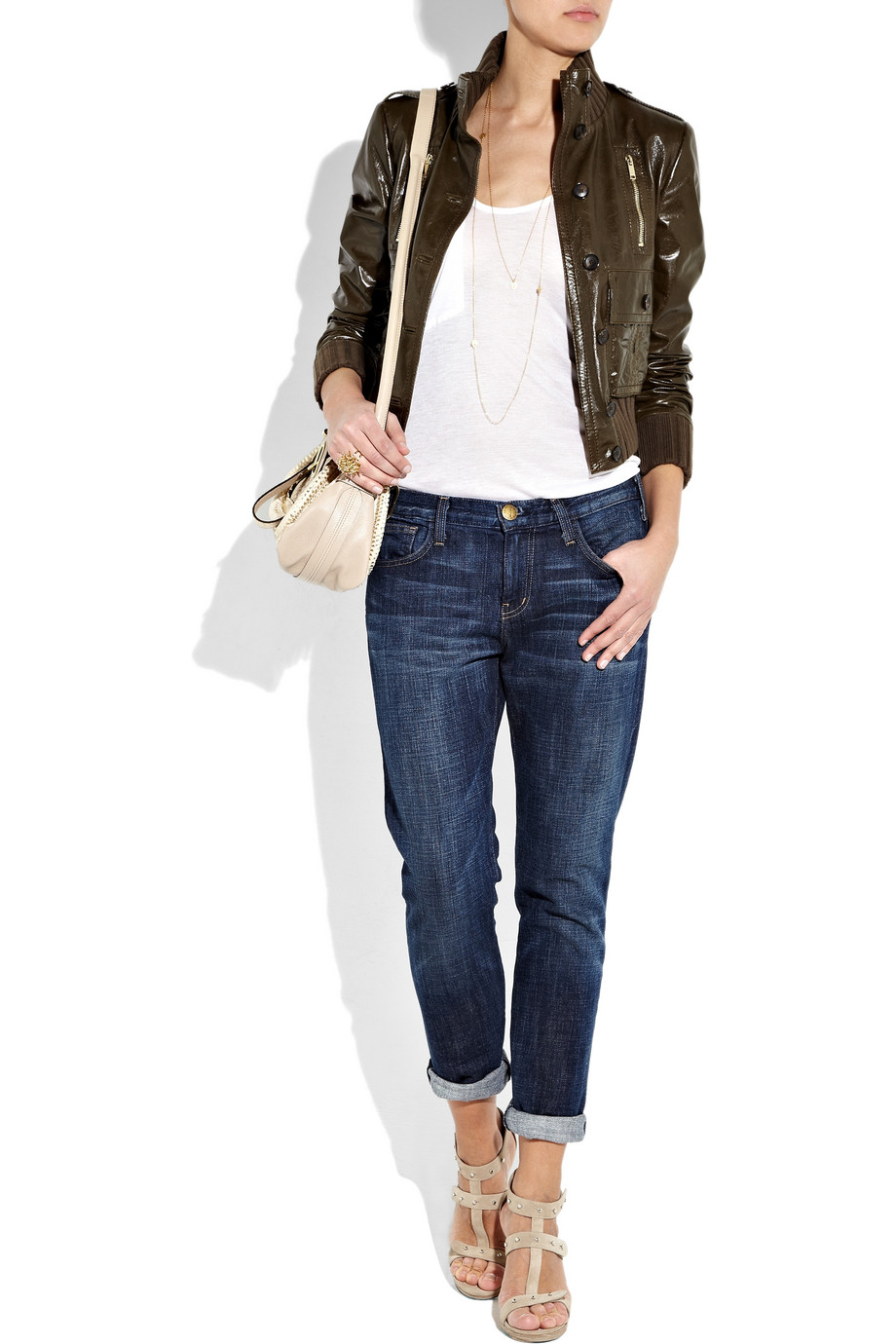 Wearable Trends: Gucci Leather Bomber Jacket