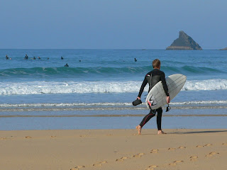 cornwall surfer