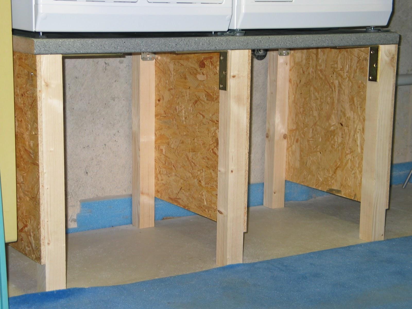 kantnreiter wir bauen uns einen tisch wie man eine waschmaschine h her legt. Black Bedroom Furniture Sets. Home Design Ideas