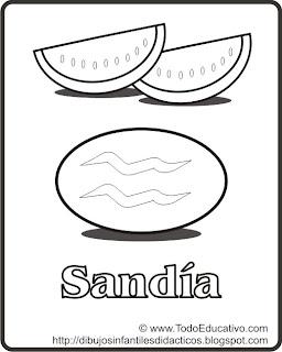 Didactic educational Prints and drawings Dibujo para imprimir y