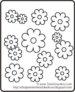 Didactic Educational Prints And Drawings Dibujo De Flores Para