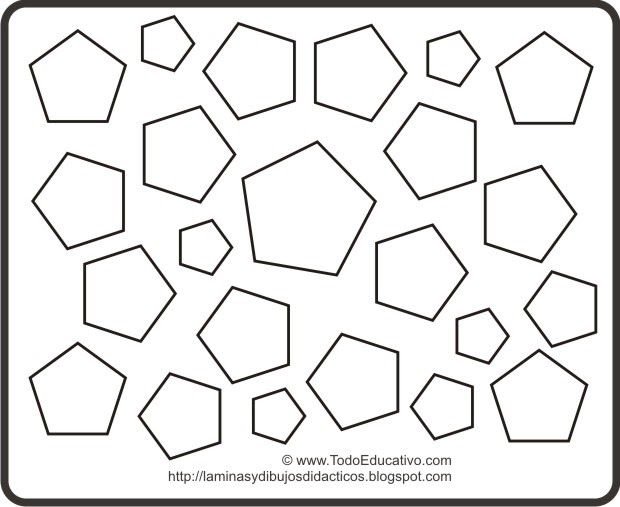 Didactic Educational Prints And Drawings: Dibujo De Formas