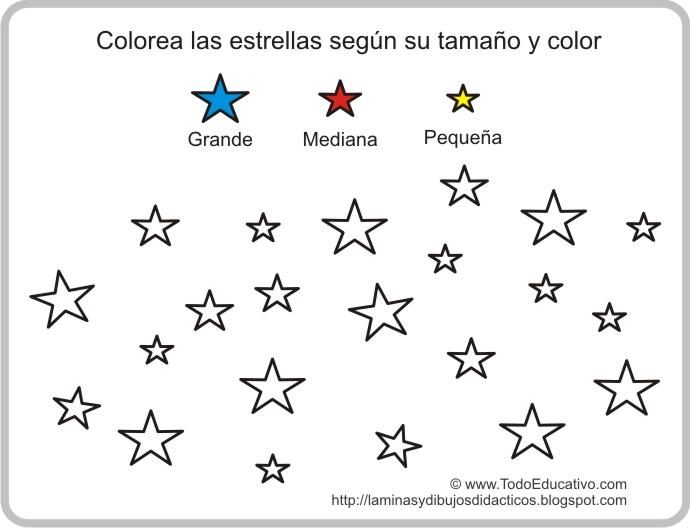 Imagenes De Estrellas Para Imprimir Y Colorear