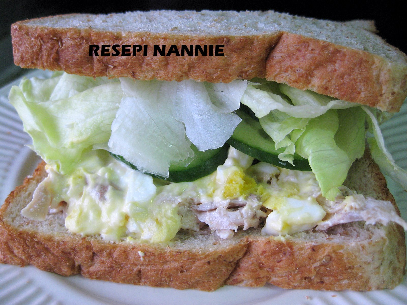 CHICKEN & EGG MAYO SANDWICH - Tips Resep Cara Membuat