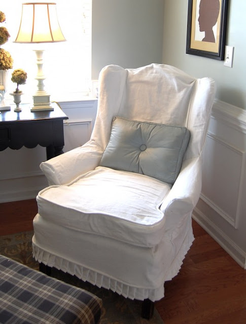 Little Lovables Homefront White Slipcovers And Touches