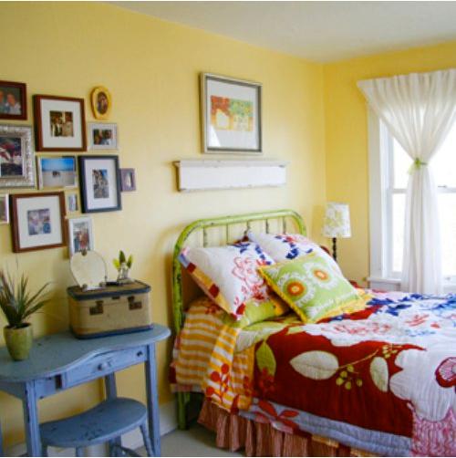 Colorful Vintage Room: Little Lovables: Colorful Creative Farmhouse