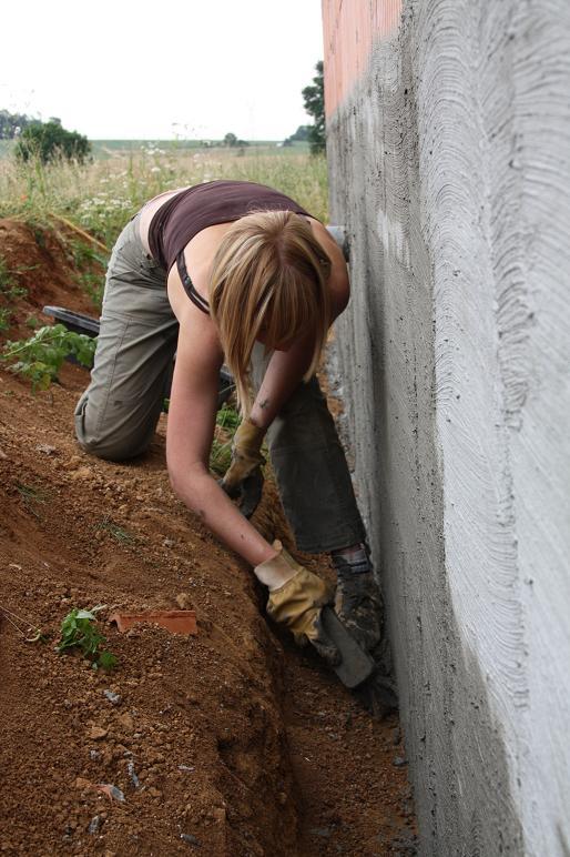 Autoconstruction de notre maison etanch it vide sanitaire - Maison sans vide sanitaire humidite ...