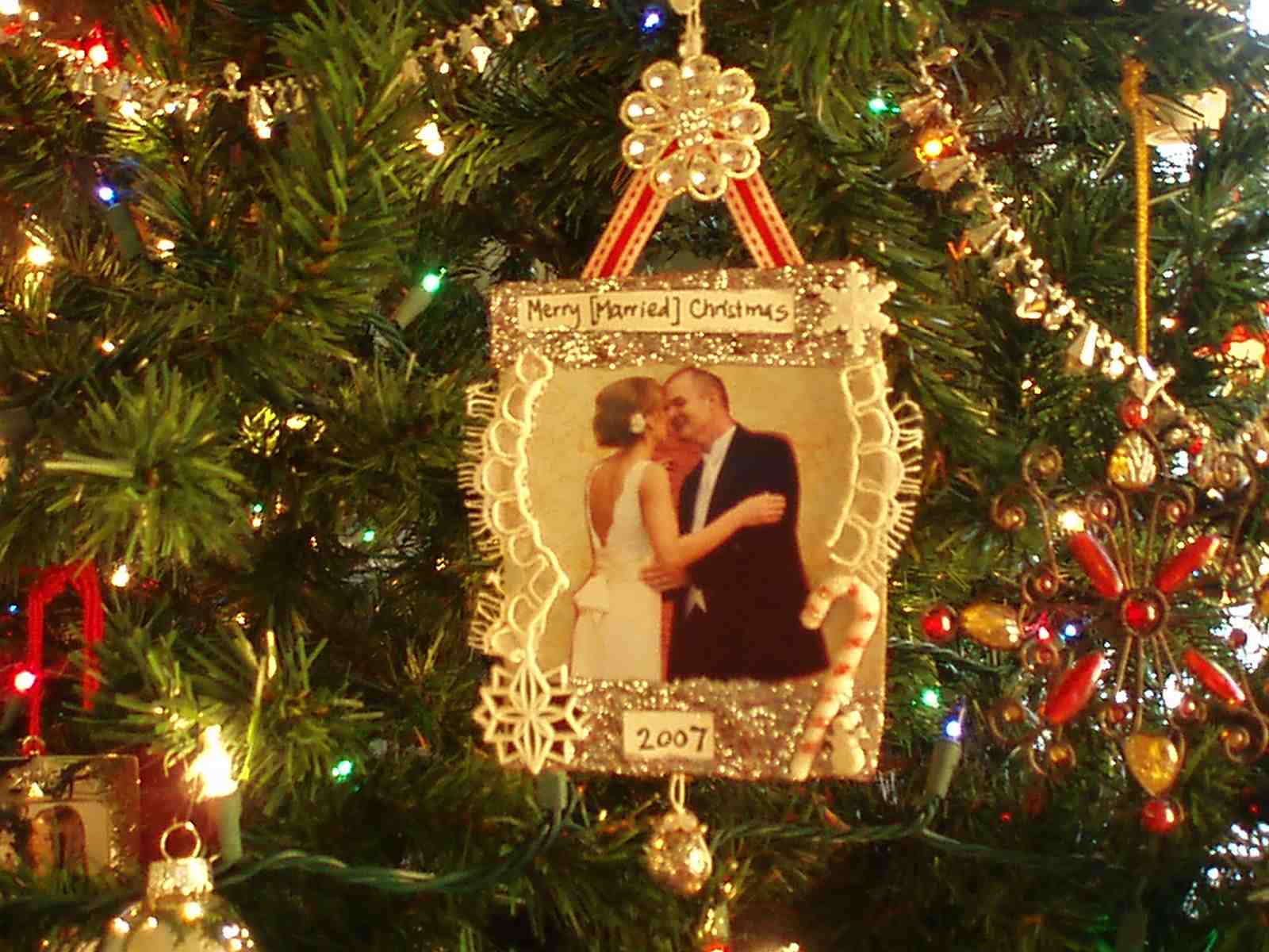 First Married Christmas Decoration – Decoration Image Idea