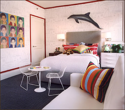 decorate MODERN Kids Room