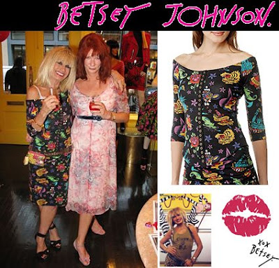 Just like fingerprints. Betsey Johnson is celebrating 30 years in fashion
