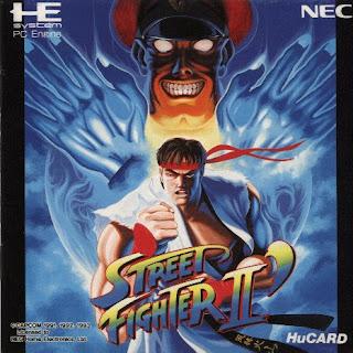524 - Street Fighter II (Nec PC Engine)