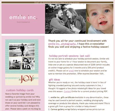 maine wedding photography blog holiday e newsletter
