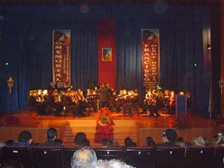 Momento del Memorial del año pasado. Foto de la Asociación Musical San Sebastián de El Padul.