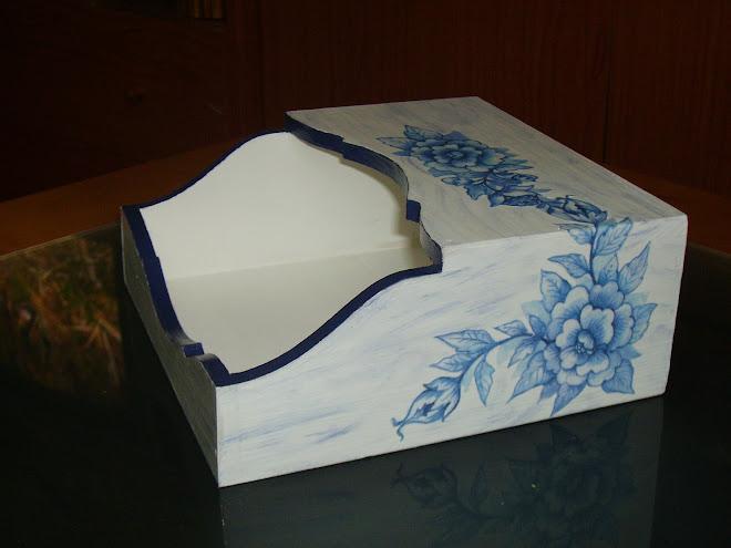 caixa de guardanapos