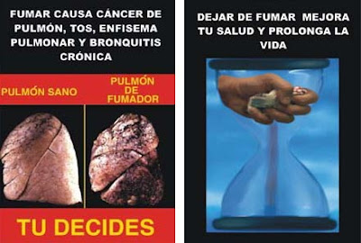 Advertencias e imagenes en cigarrillos