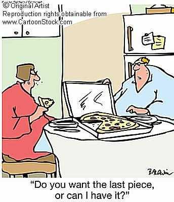 humor tamaño porciones