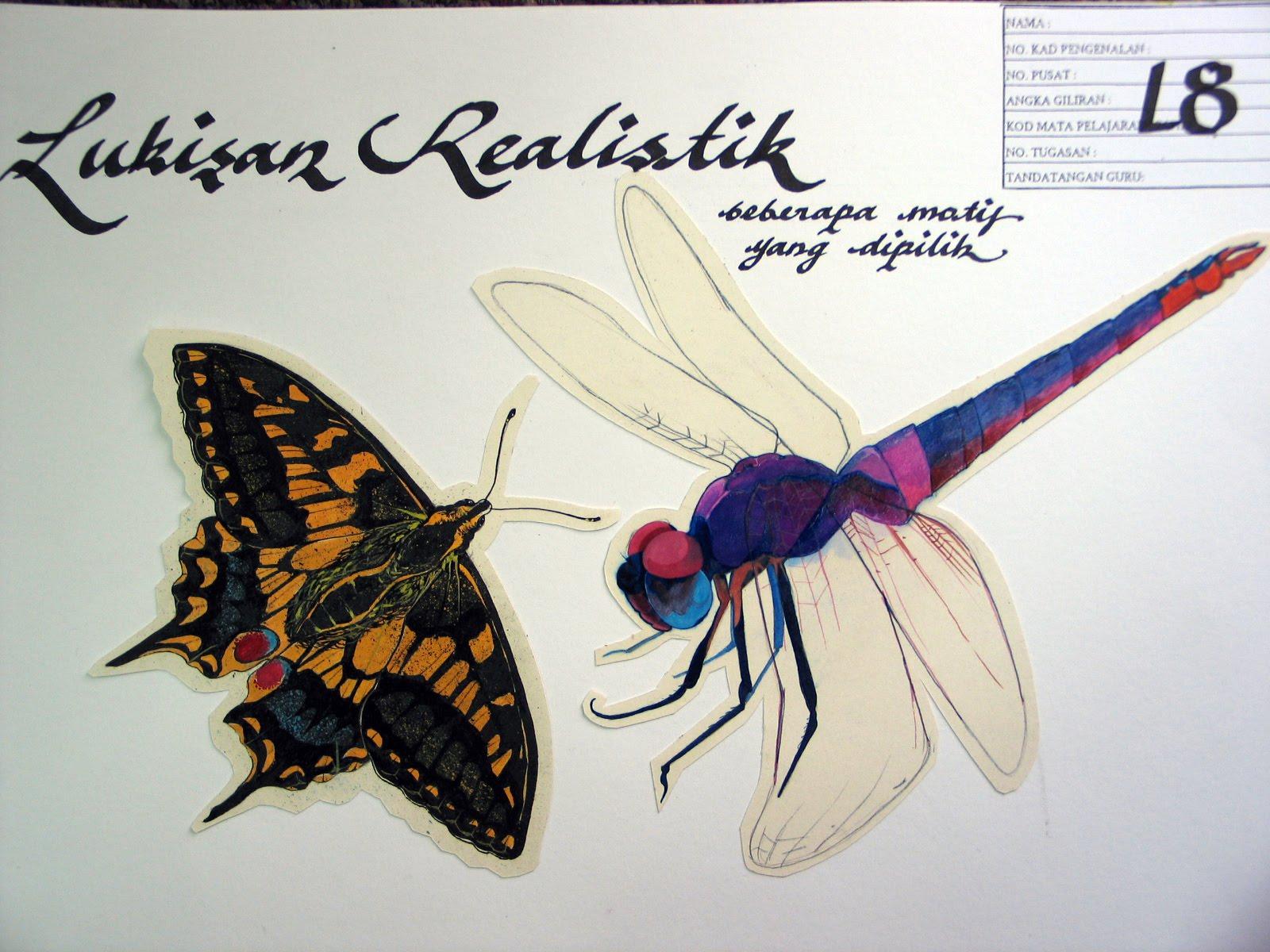 Pendidikan Seni Visual Contoh Teknik Lakaran Lukisan Yang Boleh Diaplikasi Dalam Folio