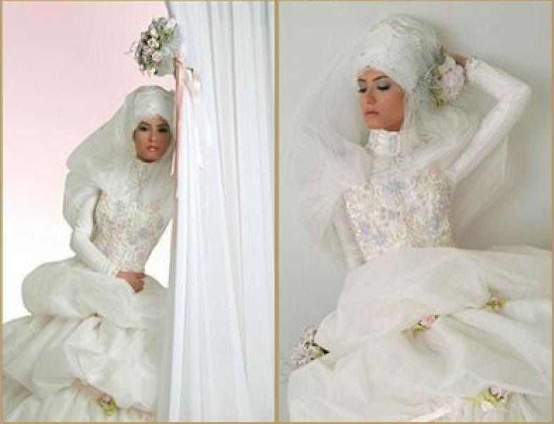 The Bridesmaid's Guide: Bridal Hijab: Turkish Wedding Dresses By Bala Couture