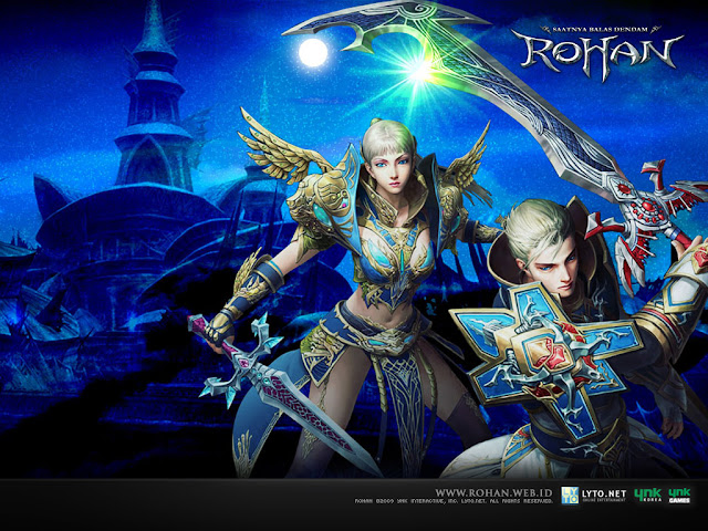 mmorpg wallpapers, rohan blood feud wallpapers, rohan online pictures