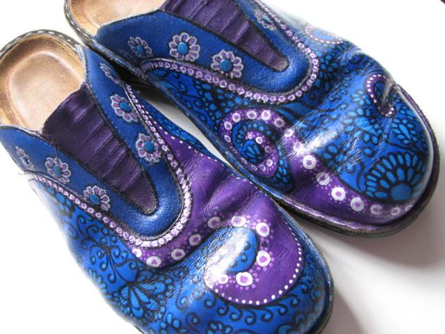 Lyric Art Tutorial Painting Shoes