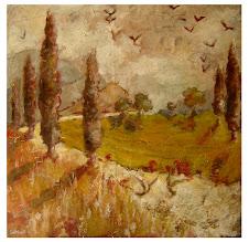 Toscane                                        (80x80)  -  1 100 €