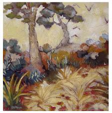 Paysage fauve 1 (50x50) - 450 €