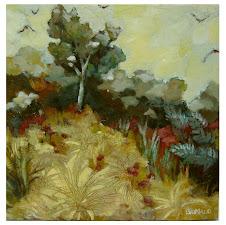 Paysage fauve 2 (50x50) - 450 €