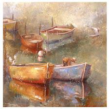 Barques (80x80) - 1200 €