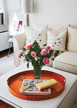 A touch of Luxe: studio apartment by using - Olivia Palermo Apartment