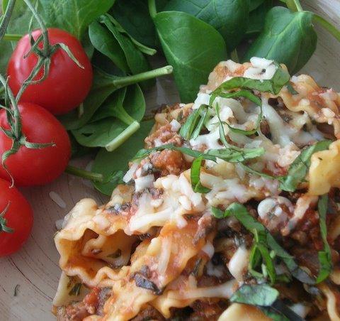 how to fix burnt lasagna
