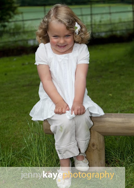 Nursery photos outdoors