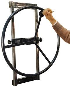 Equipamiento para gimnasios de rehabilitacion rueda de hombro - Equipamiento de gimnasios ...