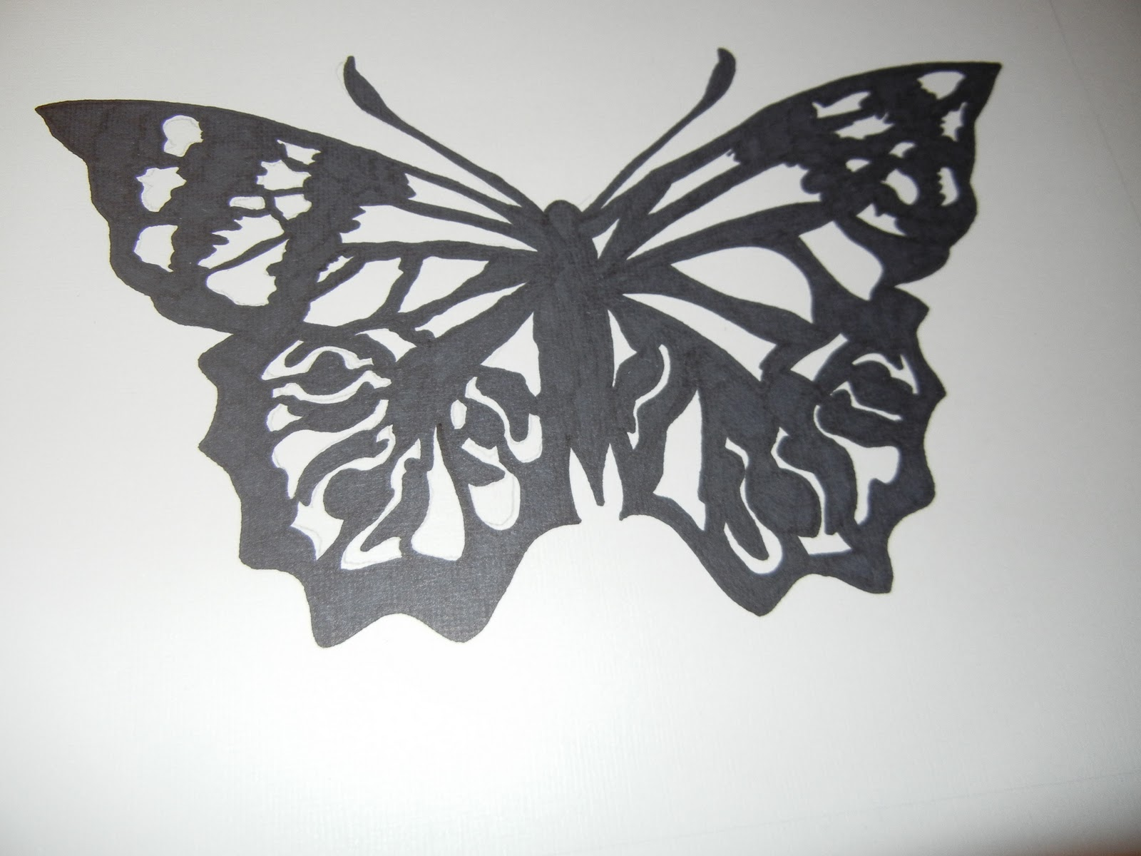 Butterfly Wall Stencils Painting Diy Shop Diy 3d Wall Art Artist Skills Not Required